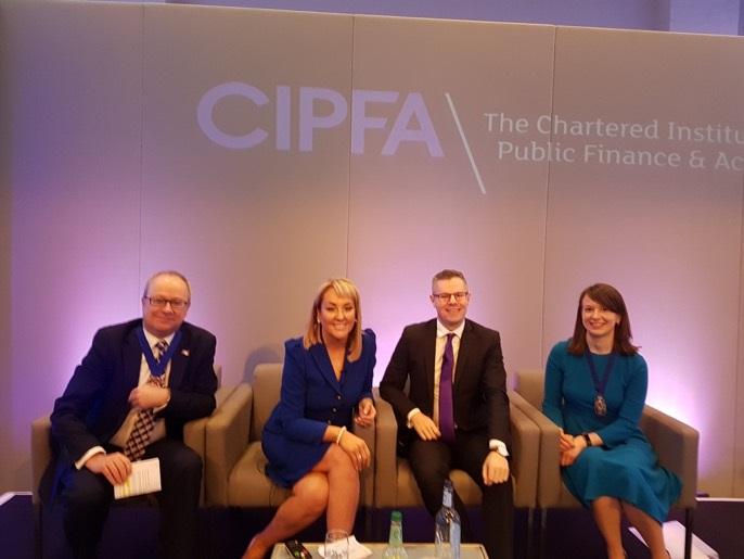Marie Macklin Talks Halo Kilmarnock at CIPFA Conference