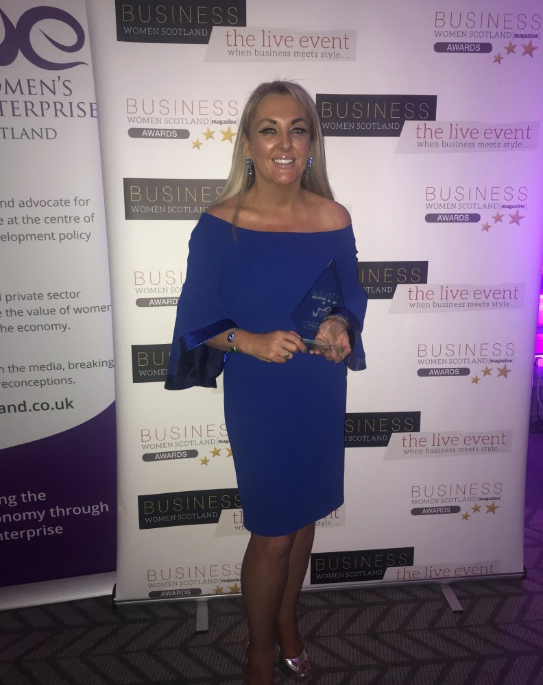 Marie Macklin recognised as Business Woman of The Year