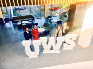 The HALO signs MoU with UWS for Enterprise & Innovation Hub