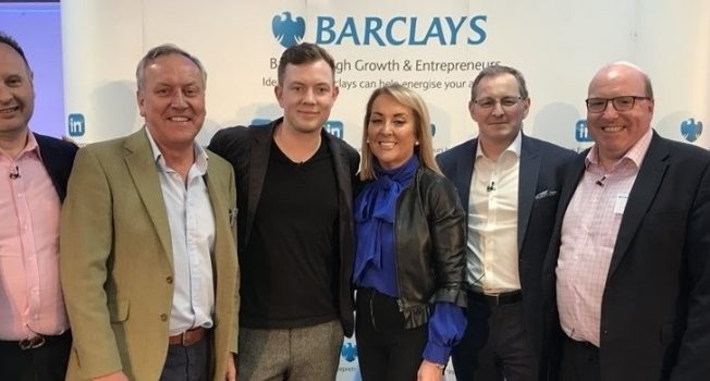 Marie Macklin Features On Panel At Barclays 'Live Growth' Event