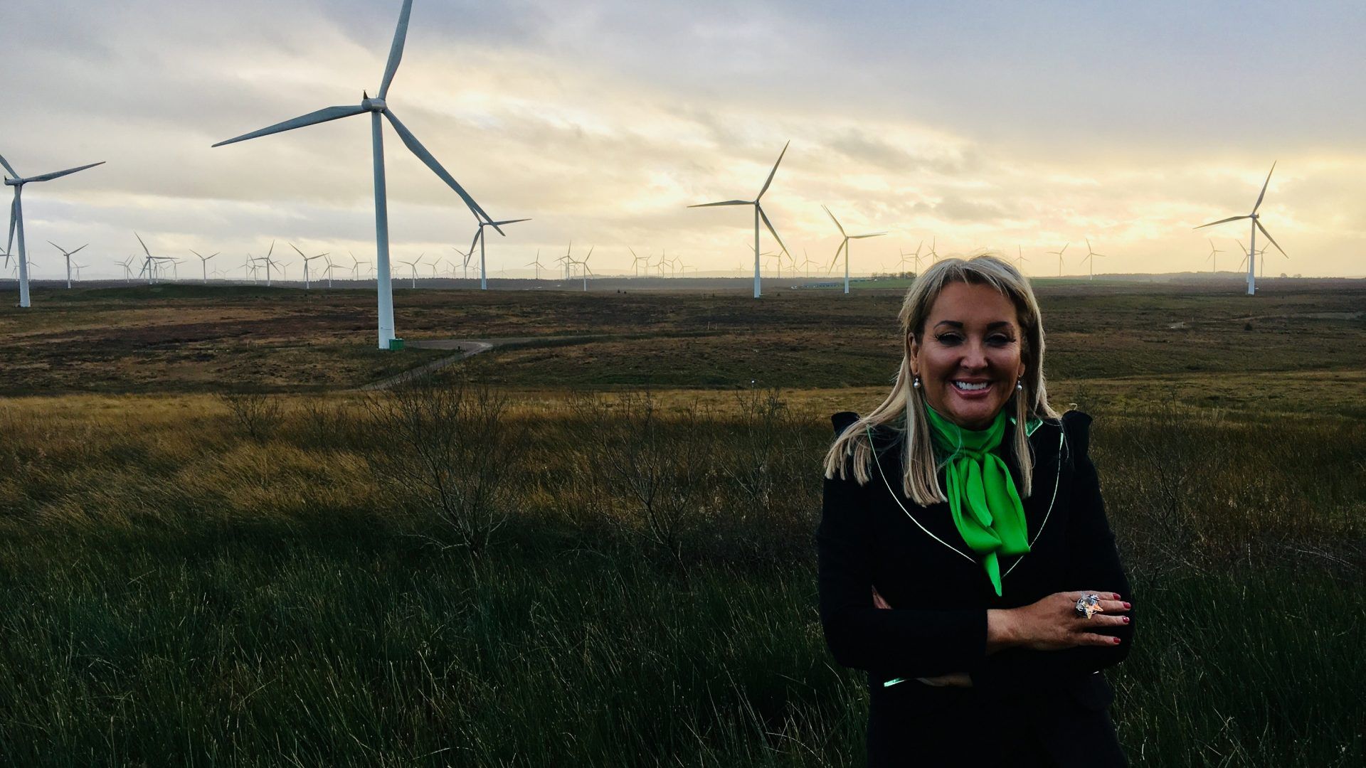 Marie Macklin tours the Scottish Power Renewables Whitelee Wind Farm