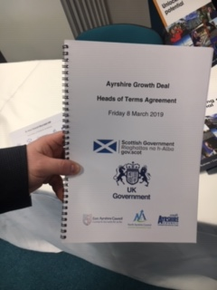 Growth deal confirmed as Ayrshire celebrates major investment boost