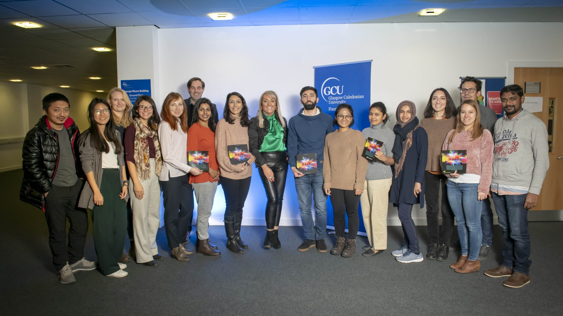HALO Masterclass at Glasgow Caledonian University