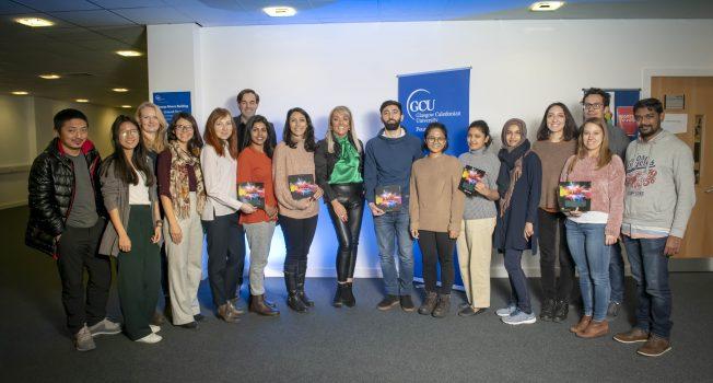 HALO Masterclass at Glasgow Caledonian University