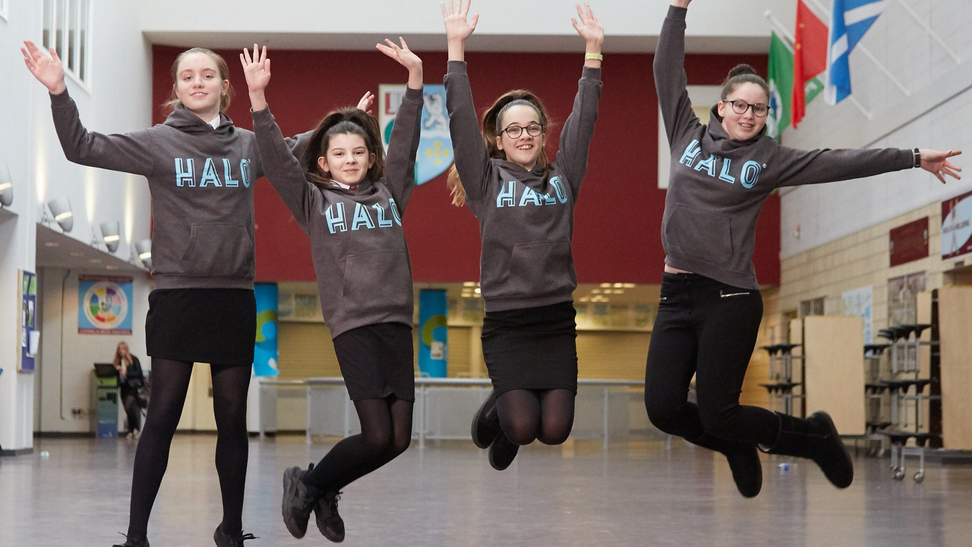 The HALO backs Scotland's CyberFirst Girls