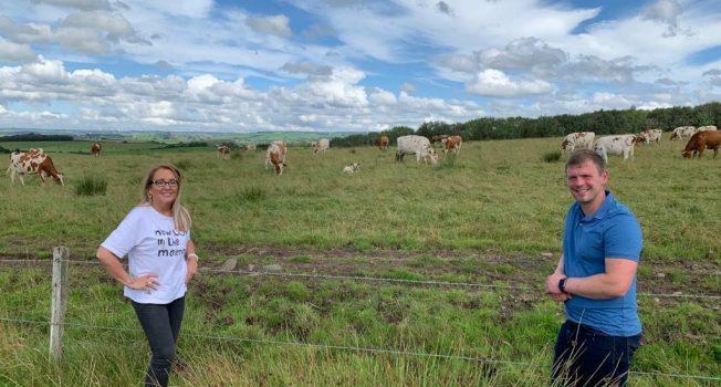 Marie Macklin talks sustainability with Farmer Bryce
