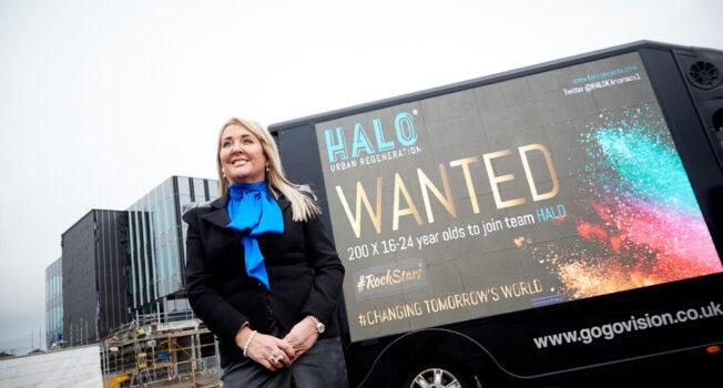 Marie Macklin features in UK Government Kickstart video